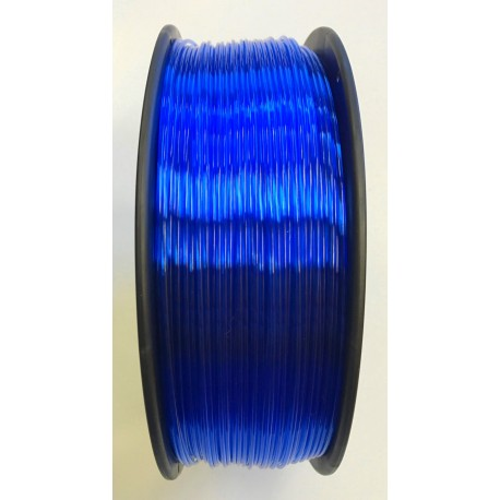 PETG - Filament 1,75mm blau-transparent